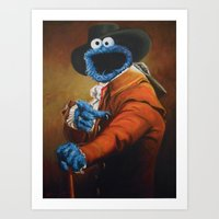 Monster Ducookie Art Print