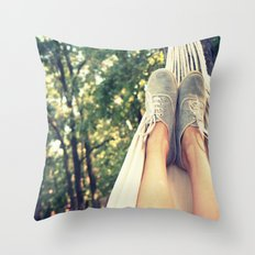 Zen Style Throw Pillow