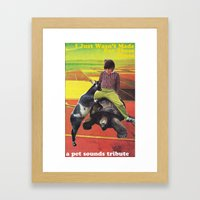 Pet Sounds Framed Art Print