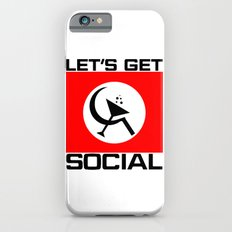 Let's Get Social Slim Case iPhone 6s