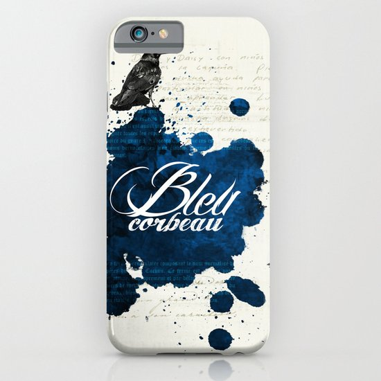 Bleu Corbeau iPhone & iPod Case