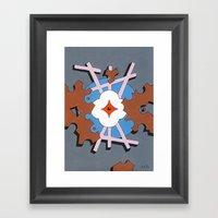 Patterned Ornament #1 Framed Art Print