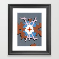 Patterned Ornament #1 Framed Art Print