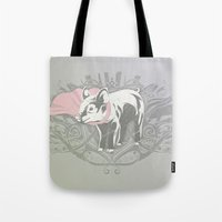 Fearless Creature: Oinx Tote Bag