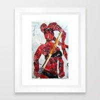 DARTH TALON Framed Art Print