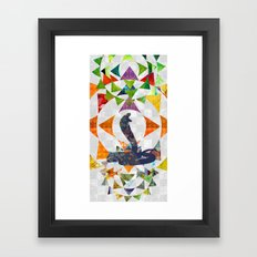 Chinese Lunar New Year and 12 animals  ❤  The SNAKE 蛇 Framed Art Print