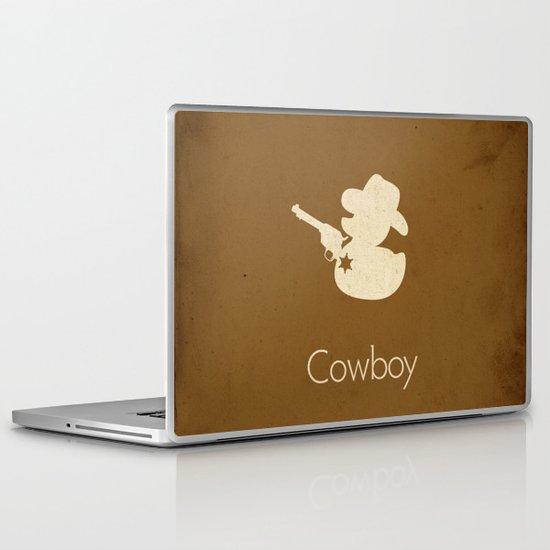 Cowboy Laptop & iPad Skin