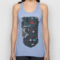 Proton Pack, Ghostbuster… Unisex Tank Top