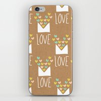 Love Letter iPhone & iPod Skin