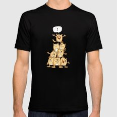 Shout It Out! Mens Fitted Tee Black SMALL