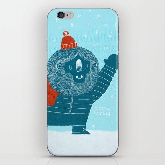 Snow Yeah iPhone & iPod Skin