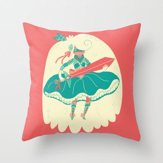 Magical Ass Kicker Throw Pillow