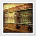 RADIO - ANALOG zine Art Print