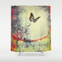 Waterfly III Shower Curtain