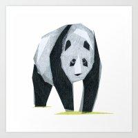 Felice Panda Art Print
