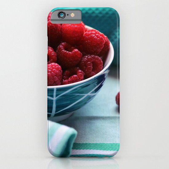 Ruby Delicious - Raspberry Still Life iPhone & iPod Case