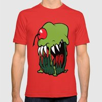 zombie cupcake Mens Fitted Tee Red SMALL
