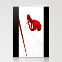 Daredevil Red Stationery Cards