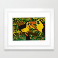 Twocans Framed Art Print