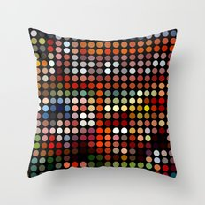 Comic Throw Pillow