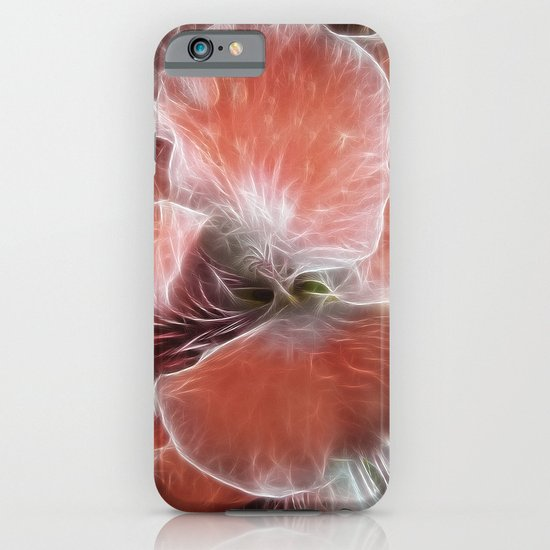 Royal Pelargonium with Water Droplets iPhone & iPod Case