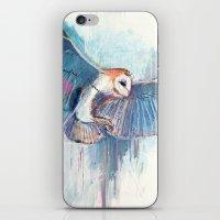 Broken Owl iPhone & iPod Skin