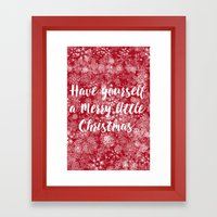 Have Yourself A Merry Li… Framed Art Print