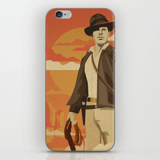 The Archeologist iPhone & iPod Skin