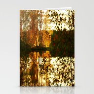 Reflection In October Stationery Cards
