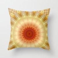 Mandala 9 Throw Pillow