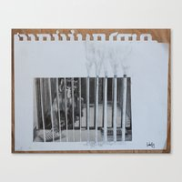 Canvas Print featuring monkeybars by Marisabel Lavastida