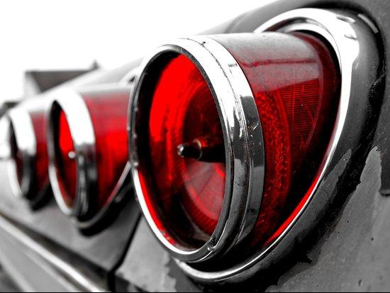 Impala taillights Art Print