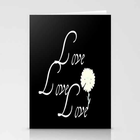 love love love Stationery Card
