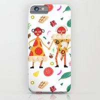 Pizza Folk iPhone 6 Slim Case