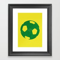 Soccer Framed Art Print