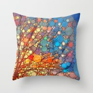Candy Fest! Throw Pillow