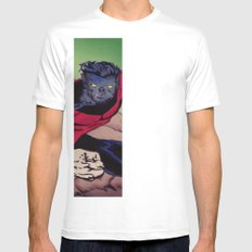 The Amazing Nightcrawler Mens Fitted Tee SMALL White