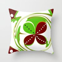 Pattern One  Throw Pillow