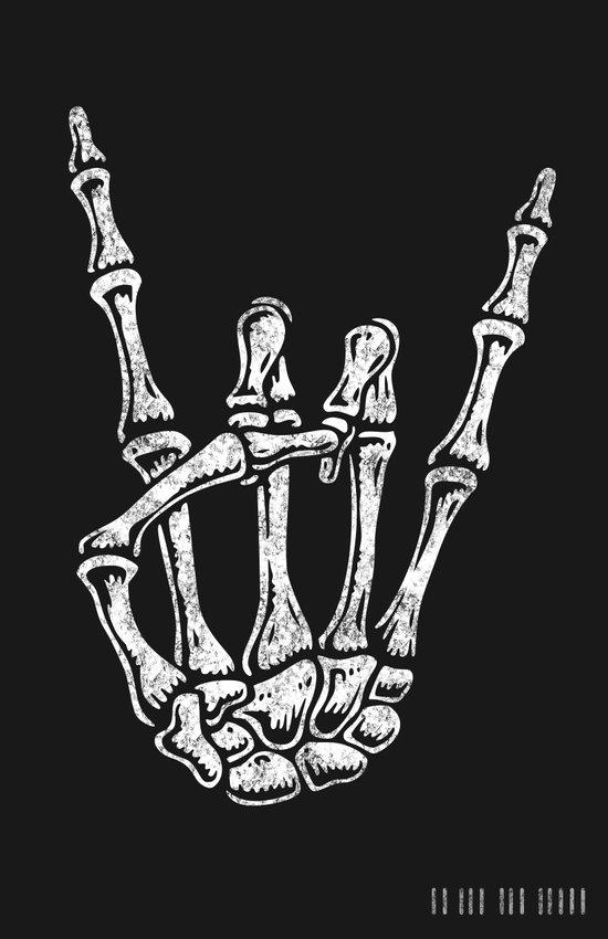 Rock 'N Bone Art Print