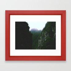 Up in the Sky  Framed Art Print