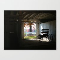 Exposed by Light Canvas Print
