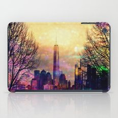 Space Manhattan iPad Case