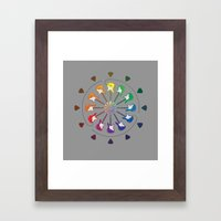 Vivid Melody Framed Art Print