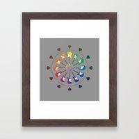 Vivid Melody Framed Art Print