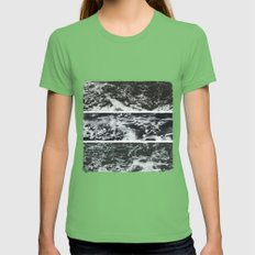 Saltwater Trytych Var II - blacks Womens Fitted Tee Grass SMALL
