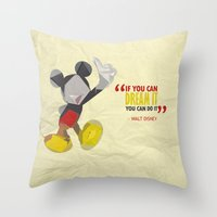 Dream It Throw Pillow