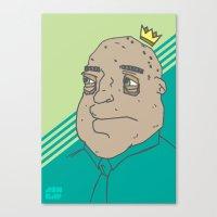 King Sh... Canvas Print