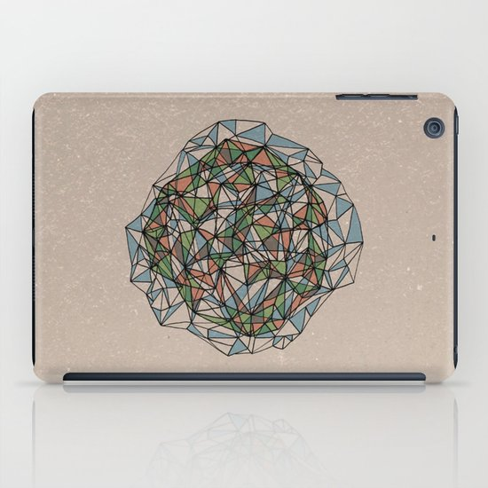 - blue orange green - iPad Case