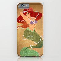 Vintage Pin-Up Ariel iPhone 6 Slim Case