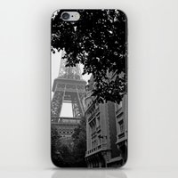 Eiffel Tower in Hiding iPhone & iPod Skin
